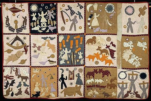 Pictorial quilt American by Harriet Powers