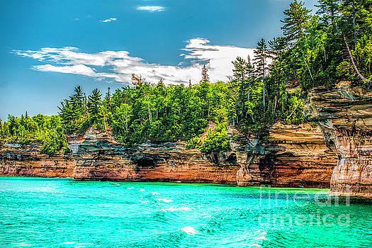 Nick Zelinsky - Picture Rocks Lakeshore Michigan