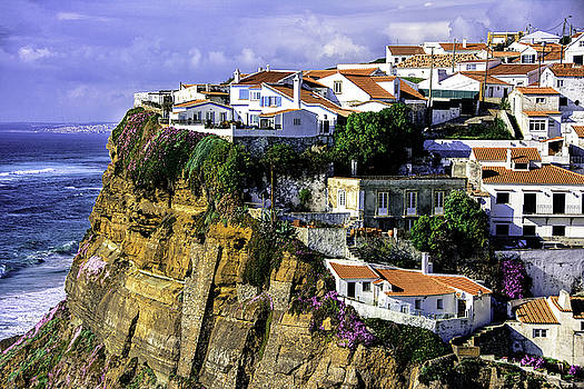 Picturesque Village in Portugal by Marion McCristall