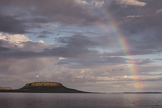 Pie Island Rainbow by Jakub Sisak