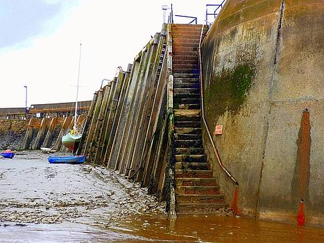 Pier Steps by Jane Clatworthy
