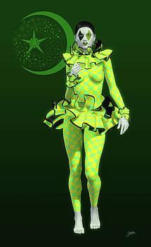 Pierrette y la luna verde by Joaquin Abella