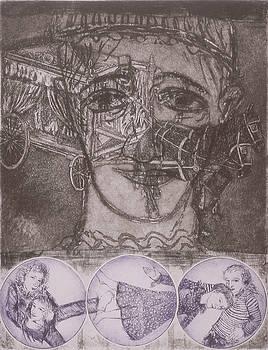 Pierrot's Funeral B by Bert Menco