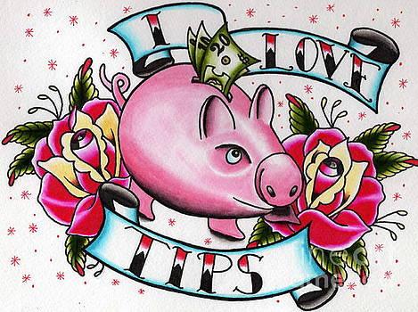 Piggy Bank by Kevin  Guinn