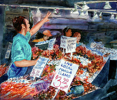 Pike Place Market by Ron Stephens