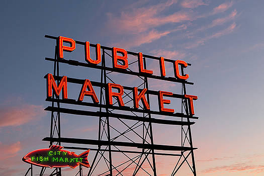 Pike Place Market by Stephanie McDowell