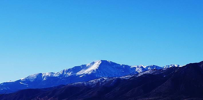 Pikes Peak by Joseph Frank Baraba