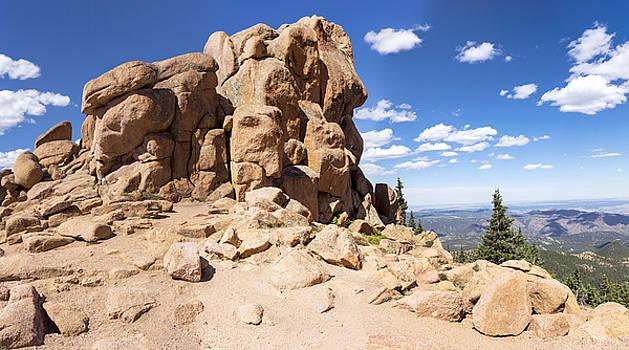 Lynn Palmer - Pikes Peak Outcropping