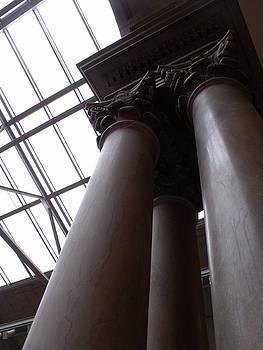 Pillars I by Anna Villarreal Garbis