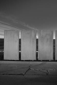 Pillars of Art in the Black and White World by Greg Kopriva
