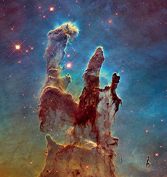 Pillars  Of  Creation by Carl Deaville