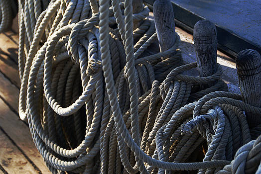 Linda Knorr Shafer - Pin Rail And Rope