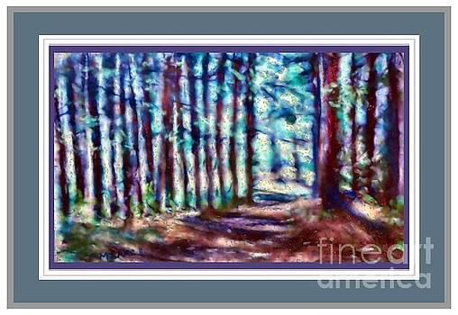Pine Tree Path by Shirley Moravec
