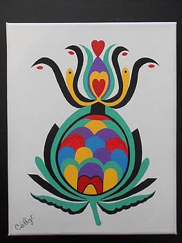 Pineapple Love by Catherine Velardo