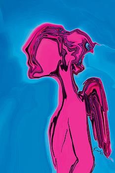 Pink Angel by Rabi Khan