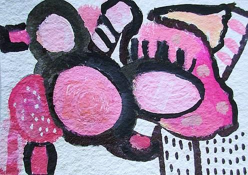 Pink Bunny by Kate Delancel Schultz