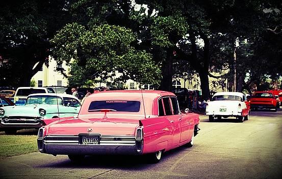 Pink Cadillac Cruisin the Coast 2015 CTC by Susan Bordelon