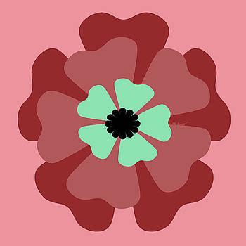 Kate Farrant - Pink Flower 1