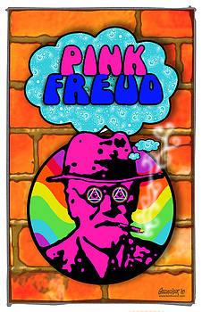 Pink Freud by John Goldacker