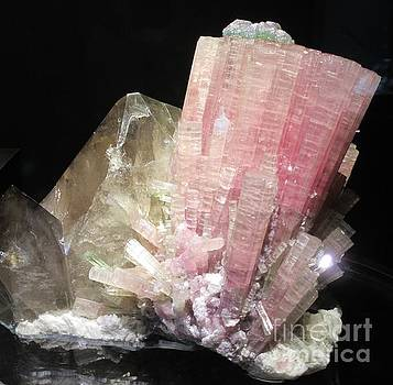 Pink Gemstone by Barbara Yearty