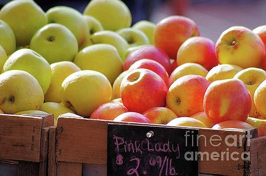 Pink Lady Apples by John S