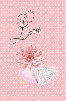Pink Love by Jannina Ortiz