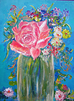 Patricia Taylor - Pink Rose Floral