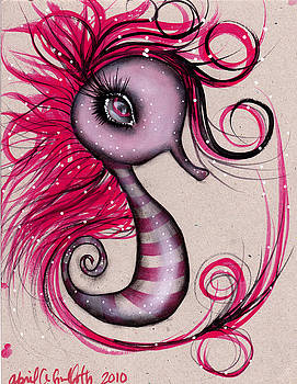 Abril Andrade Griffith - Pink Seahorse