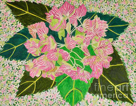 Pink to Green by Cora Morley Eklund