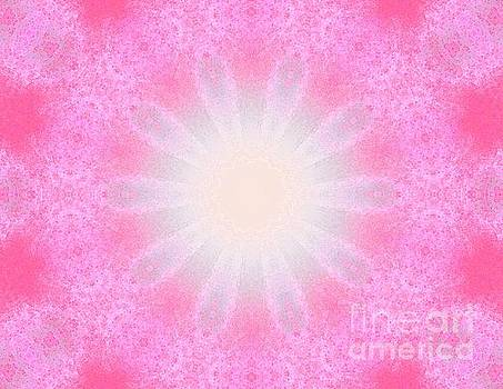 Pink White Light by Shirley Moravec