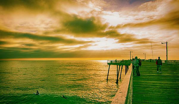 Pismo Beach Pier by Joseph Hollingsworth