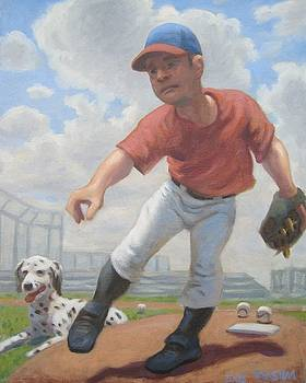 Pitcher and His Coach by Texas Tim Webb