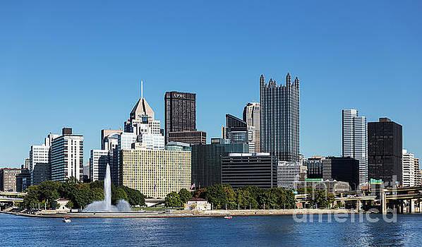 Pittsburgh skyline. by John Greim