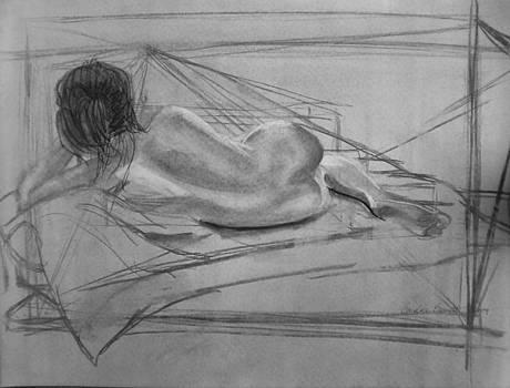 Planar Figure Study by Candace Barnett