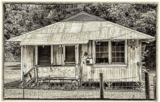 Plantation Cottage #1 by Carolyn Marchetti