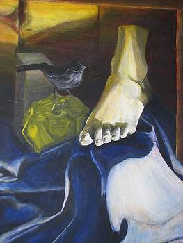 Plaster Foot by Brian Marcotte