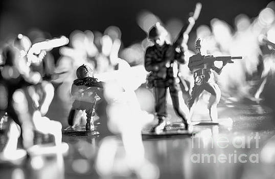 Plastic army men 2 by Micah May