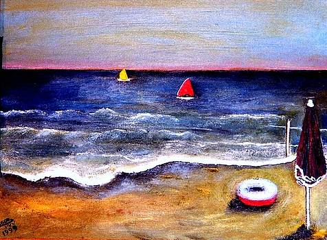 Playa  by Patricia Velasquez de Mera