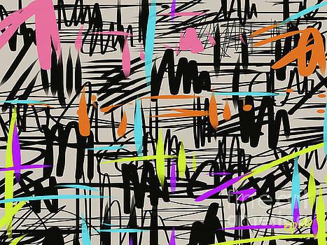 Playful scribbles by Go Van Kampen