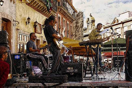 Playing Hendrix In Guanajuato by John Kolenberg