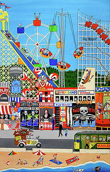 Playland in the Afterlife by Evangelina Portillo