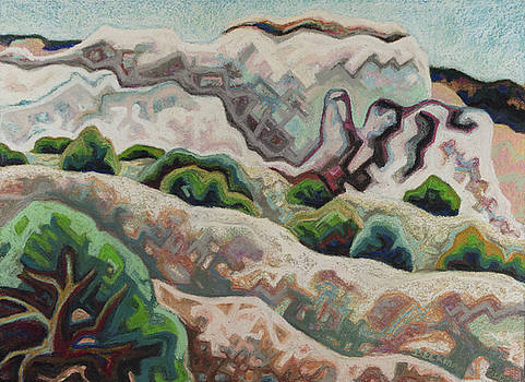 Plaza Blanca Hills by Dale Beckman