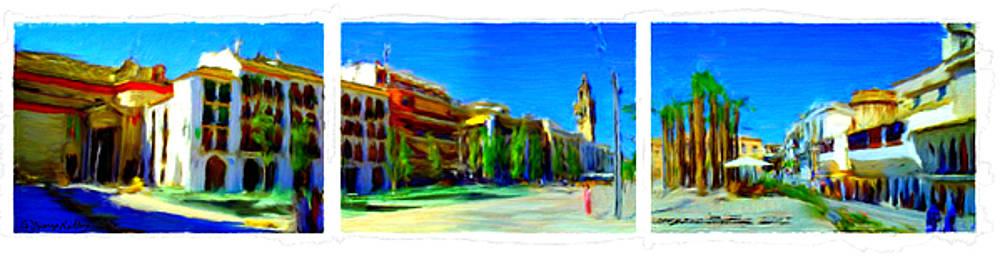 Plaza de Espana Ecija  by Bruce Nutting
