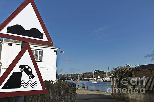 Please Drive carefully in Mylor Bridge by Terri Waters