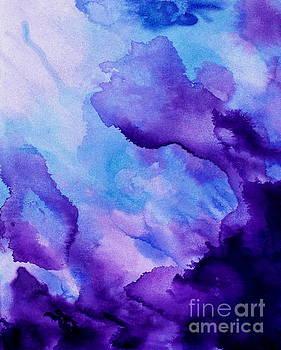 Plum and Blue by Shiela Gosselin