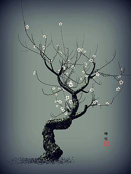 Plum Flower by GuoJun Pan