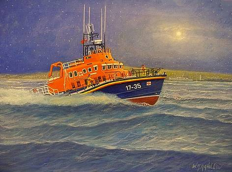 Plymouth Lifeboat by William H RaVell III