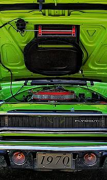 Plymouth Roadrunner Cowl Induction Hood by Susan Bordelon