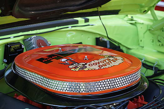Plymouth Roadrunner Coyote Duster  by Susan Bordelon
