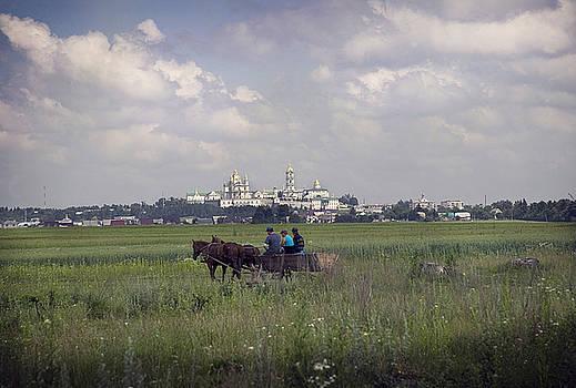 Pochaiv Monastery Ukraine by Yuri Lev
